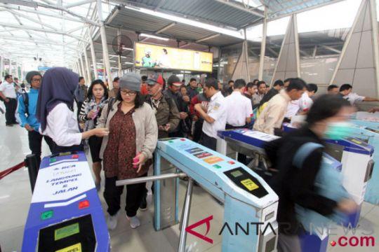Tiket elektronik di Stasiun Bogor kembali normal