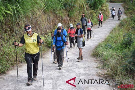 Jalur pendakian Gunung Rinjani kembali dibuka