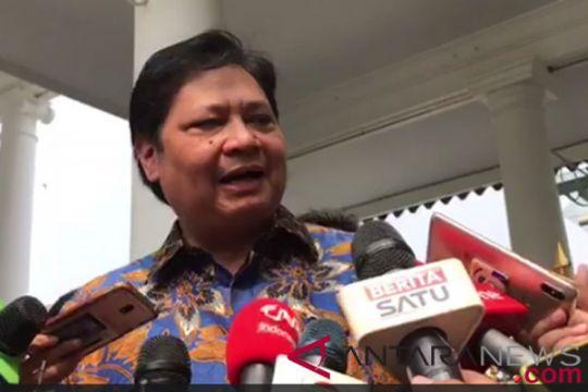 Jusuf Kalla terima Airlangga Hartarto di rumah dinas