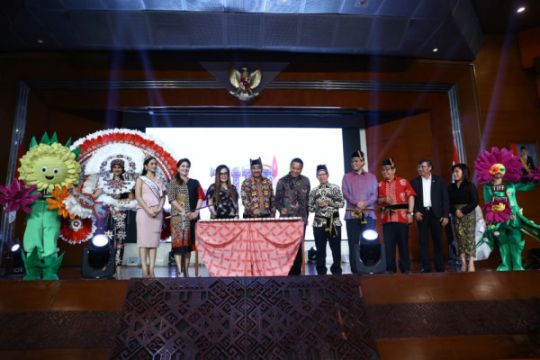 Tomohon International Flower Festival dongkrak pariwisata Sulut