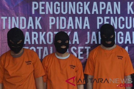 Polisi tangkap dua kurir hingga pengedar narkotika di Denpasar-Bali