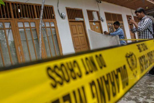 Rumah kontrakan terduga teroris