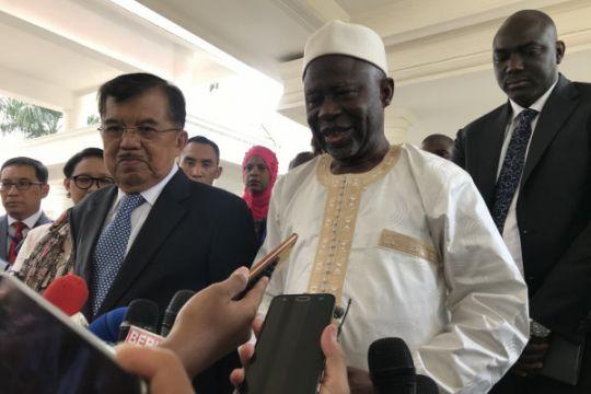 Sambut Wapres Gambia, Wapres bahas KTT OKI 2019