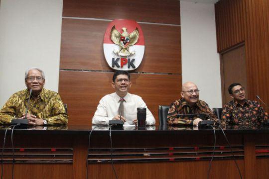 Tim Pansel hakim MK temui KPK