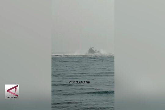 Pipa gas bawah laut bocor di Perairan Serang