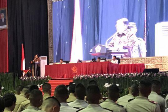 Wapres bekali capaja TNI-Polri, titip pesan hankam Tanah Air