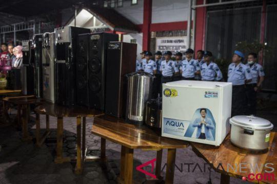 Kemenkumham ancam sanksi sipir yang loloskan barang mewah