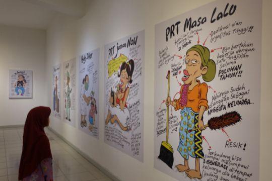 Cengar-cengir di pameran Indonesia Senyum