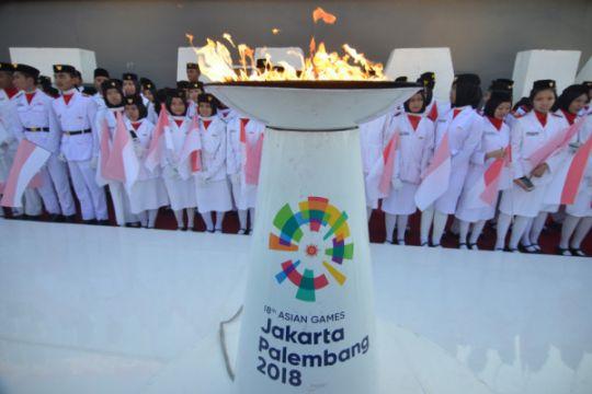 Juara Olimpiade Biologi bawa obor Asian Games di Palembang