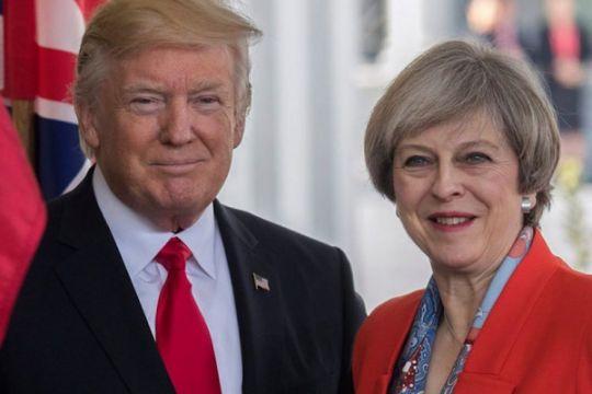 """Trump ungkap hubungannya dengan Inggris """"sangat, sangat kuat"""""""