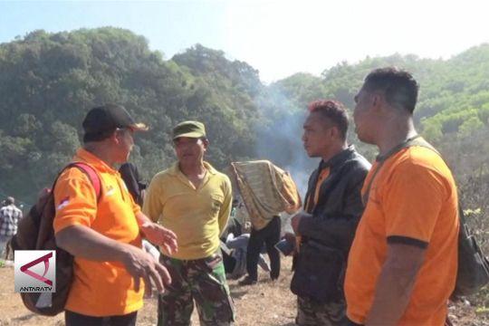 Nelayan Gunung kidul jatuh dari tebing