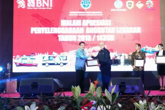 Sukses gelar Mudik Guyub Rukun 2018, Jasa Raharja raih penghargaan dari Kemenhub