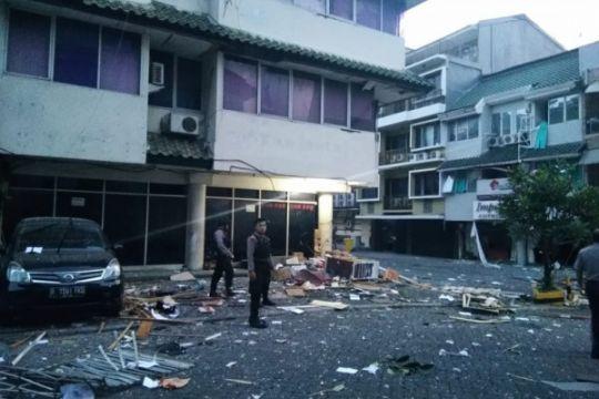 Polisi: 11 ruko terdampak ledakan di Kebayoran