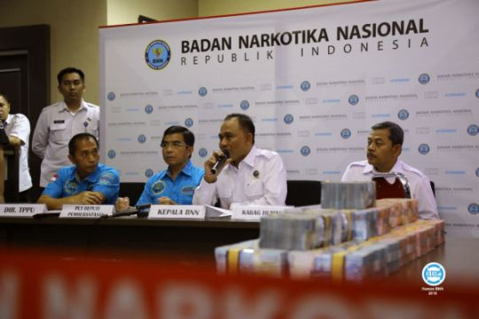 BNN sita Rp3,9 miliar aliran dana narkoba
