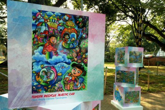 Sambut hari anak, Toyota gelar festival dan kelas seni