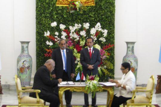 Indonesia-Mikronesia tandatangani kesepakatan bebas visa