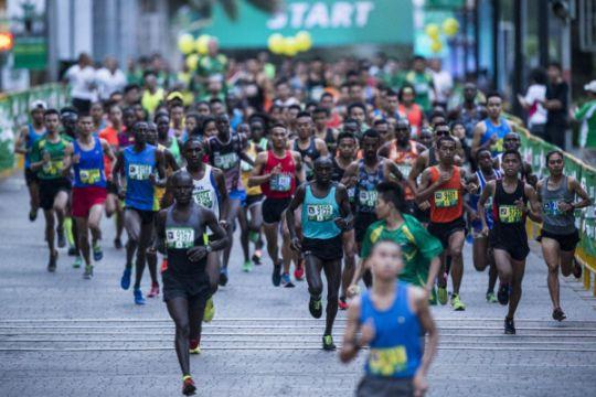 16.000 pelari turun di Jakarta Internasional 10K