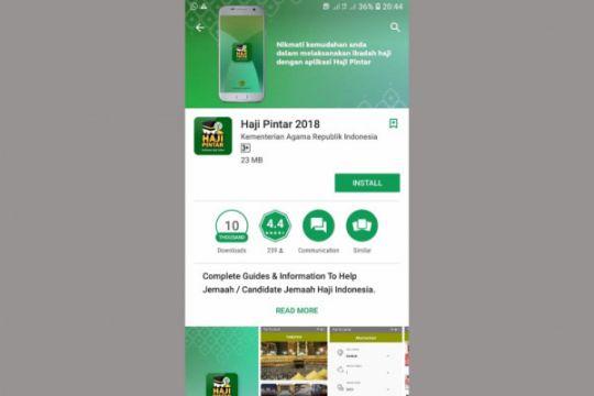 Aplikasi Haji Pintar sajikan sejumlah layanan