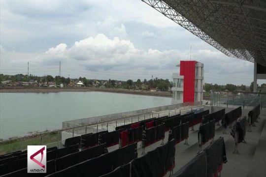 Melihat kesiapan venue dayung terbaik Asia di Palembang