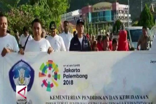 Mendikbud promosikan Asian Games di Papua