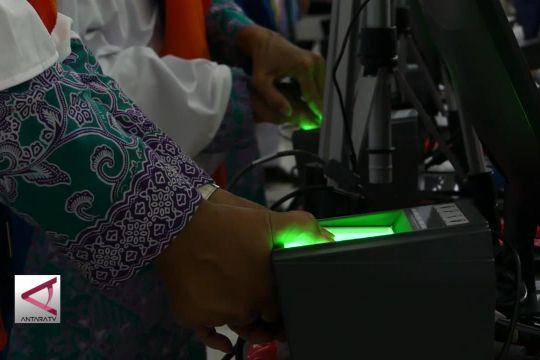 Embarkasi Solo jadi pilot project pemeriksaan biometrik
