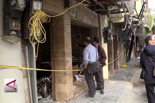 Ledakan di Ruko Grand Wijaya II