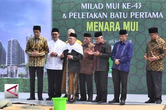 Presiden hadiri tasyakuran Milad MUI Ke-43