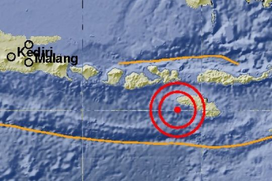 Sumba Barat Daya diguncang gempa 4.0 SR
