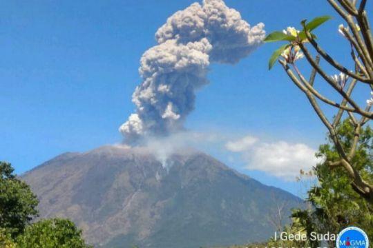 PVMBG: status Gunung Agung masih siaga