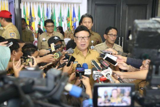 Tjahjo Kumolo datangi KPK konsultasi ASN terjerat korupsi