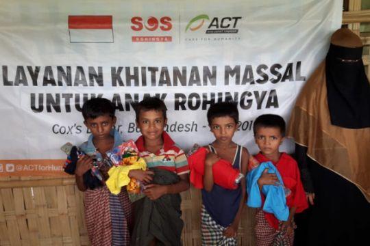 Hari Anak Nasional, ACT gelar khitan massal buat anak-anak Rohingya di Bangladesh