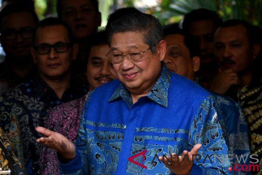 SBY sempat keluar rumah kemudian kembali