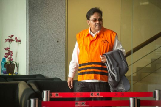 Empat tersangka suap DPRD Sumut segera disidang