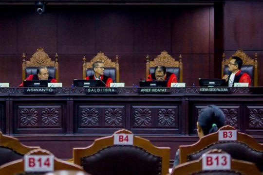 MK gelar sidang frasa UU Pemilu
