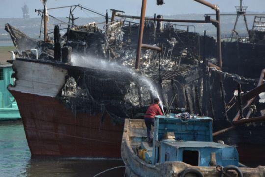 Polresta Denpasar belum tetapkan tersangka kebakaran 40 kapal