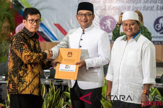 Ridwan Kamil-Uu Ruzhanul dilantik pada Rabu