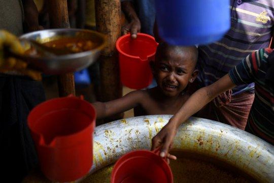"""""""Generasi yang hilang"""" bayangi anak pengungsi Rohingya"""