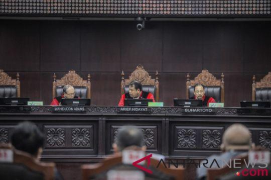 MK belum jadwalkan sidang lanjutan UU Pemilu