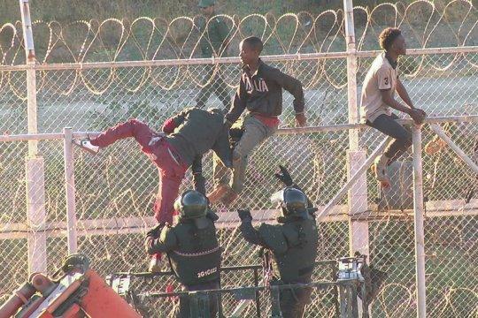 Spanyol pulangkan pengungsi Maroko penyerbu perbatasan