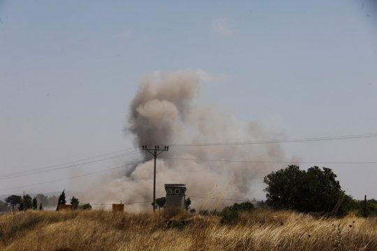 Militer Israel serang Iran di Suriah