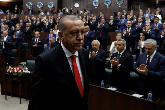 Turki perintahkan penangkapan 295 personel militer terkait Gulen
