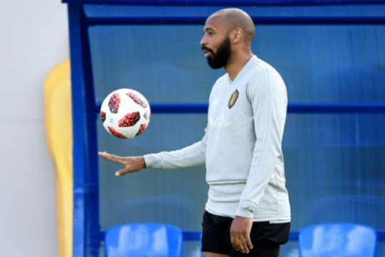 Thierry Henry kembali asisteni Roberto Martinez di timnas Belgia