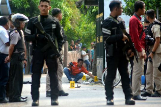 Pemilik peledak di Pasuruan terkait pelaku perampokan CIMB Niaga Medan