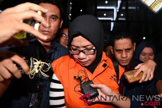 KPK resmi tahan anggota DPR Eni Saragih