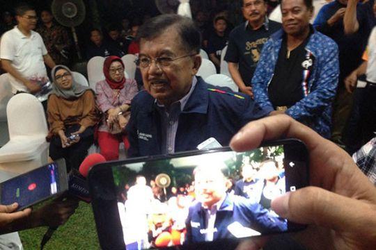 Wapres Jusuf Kalla gelar nobar Piala Dunia di rumah dinas