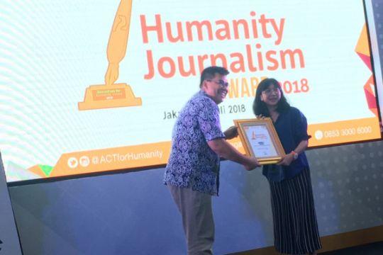 ANTARA News menangi Humanity Journalism Award 2018 ACT