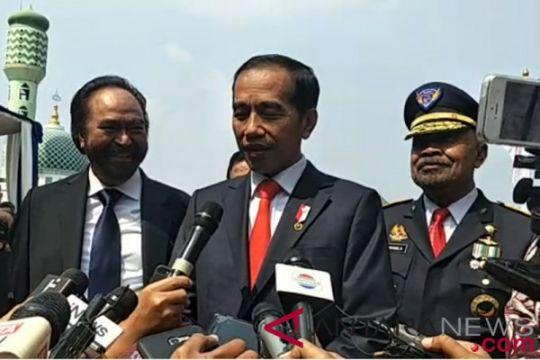 Mahfud MD dan TGB hadiri kuliah umum Jokowi