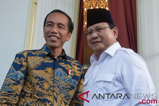 Jokowi dan Prabowo tokoh terpegah Tahun 2018