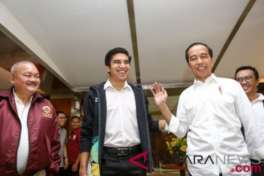 "Jokowi unggah vlog baru bersama ""Bro Saddiq"", Menpora Malaysia"