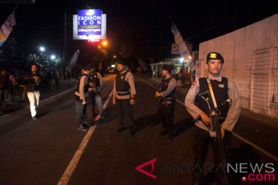 Ratusan ditangkap diduga kuat berafiliasi kelompok terorisme
